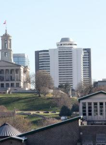 Sheraton Nashville skyline